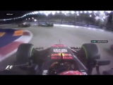 Formula 1 Singapore. Chaos in start