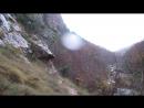 Чернореченский каньон в дождь