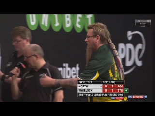 Richard North vs Simon Whitlock (PDC World Grand Prix 2017 / Round 2)