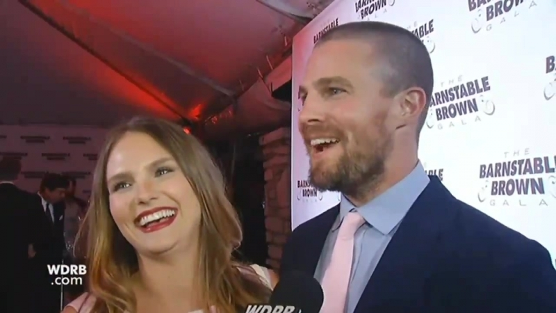 Stephen Amell on the red carpet at Barnstable Brown Gala 2018