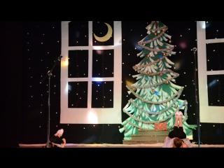 28.12.2017г.Выступление в ДК Первомайки!Новогодний концерт!!Юлия Зима и Ксения Бузова!