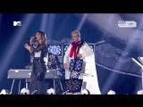 Clean Bandit feat. Zara Larsson &amp Julia Michaels &amp Anne-Marie - Symphony  I Miss You  Rockabye (MTV EMA 2017)