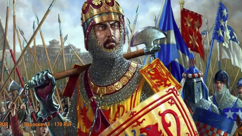 Королевство Шотландия mod PG 1220 к игре Attila Total War =ШОТЛАНДСКИЙ ПОХОД= ч.8
