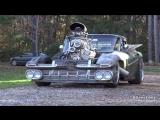 Driving the 800 HP Blown Hulk Camino Rat Rod