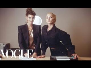 Workin' 9 to 5- Inside the Vogue Office! ft. Kate Upton, Elsa Hosk, Joan Smalls  More - Vogue