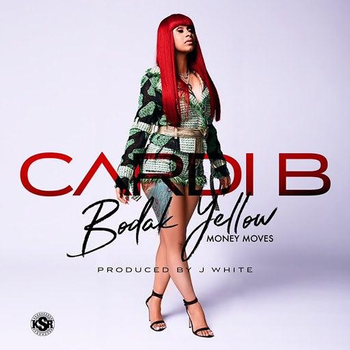 Cardi B альбом Bodak Yellow