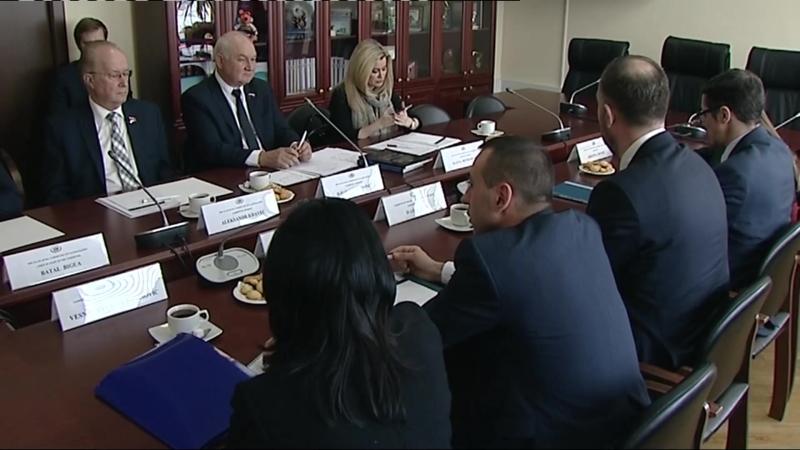 В ГД прошла встреча депутатов с делегацией Народной Скупщины Республики Сербии