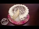 ♨️Вкусный бисквитный торт со взбитыми сливками