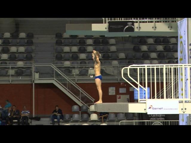 Eindhoven Diving Cup 2015, Boys AB platform