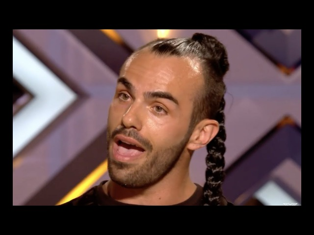Slavko Kalezic Whips His Hair And Sing | Audition 4 | The X Factor UK 2017