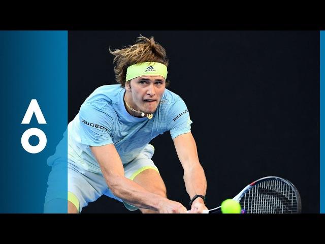 Peter Gojowczyk v Alexander Zverev match highlights (2R) | Australian Open 2018