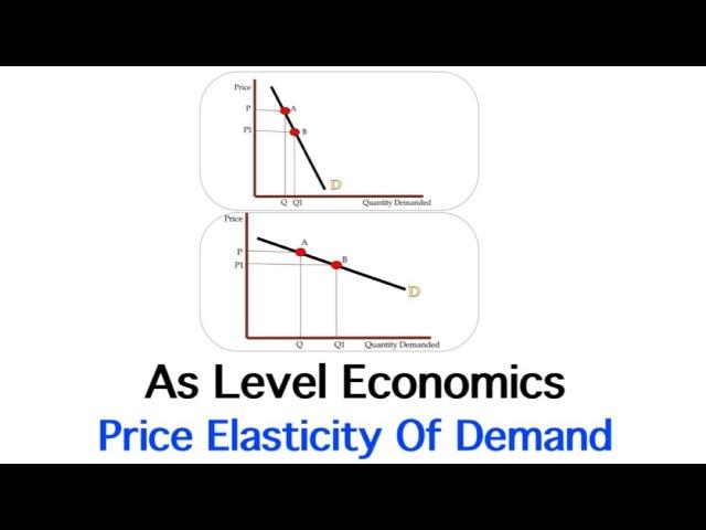 As Economics Price Elasticity Of Demand