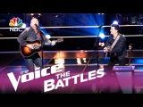 Шоу Голос США 2017. - Рэд Марлоу против Райана Скриппса с песней  Ловля в темноте.