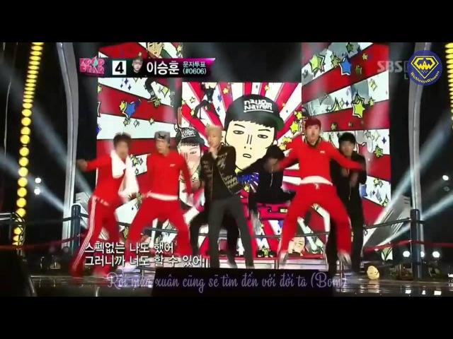 [Vietsub][WAW] Lee SeungHoon - Champion @ KpopStar Top 5