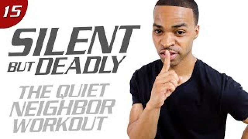 40 Min. The Quiet Neighbor Low Impact Total Body Workout | Silent But Deadly: Day 15