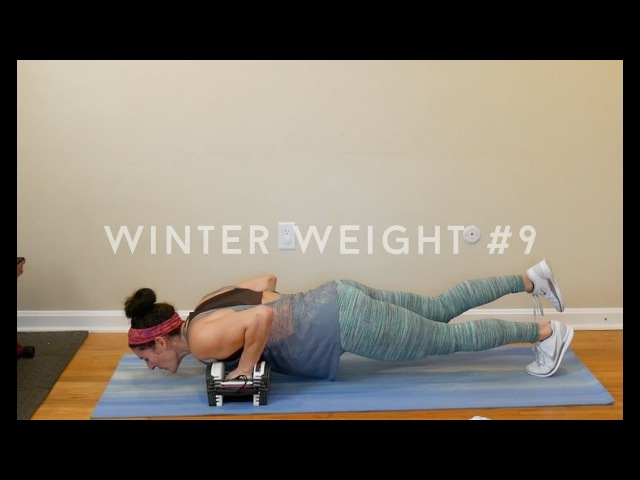 Winter Weight Workout 9: Full Body by Julia and Katelynn B