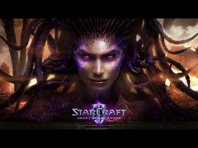 Прохождение StarCraft II: Heart of the Swarm, миссия 17 :