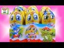 Киндер Сюрприз Весенняя коллекция, новые игрушки в яйцах Kinder Surprise