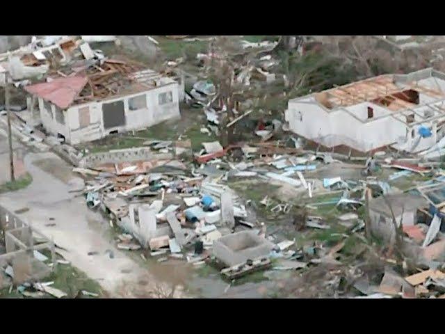 Hurricane Irma Destroys 90% of Barbuda Island