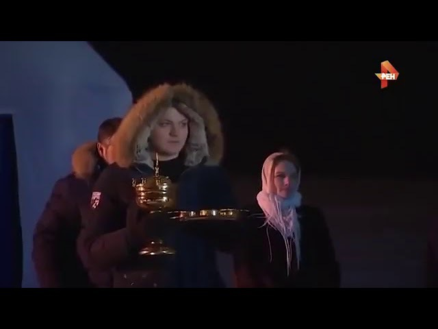 Путин в проруби Полное видео с трусами Путина на крещение 2018 года