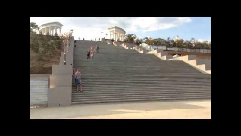 Ильичевск - самый красивый город на Земле! Приморский парк (Приморская лестница)