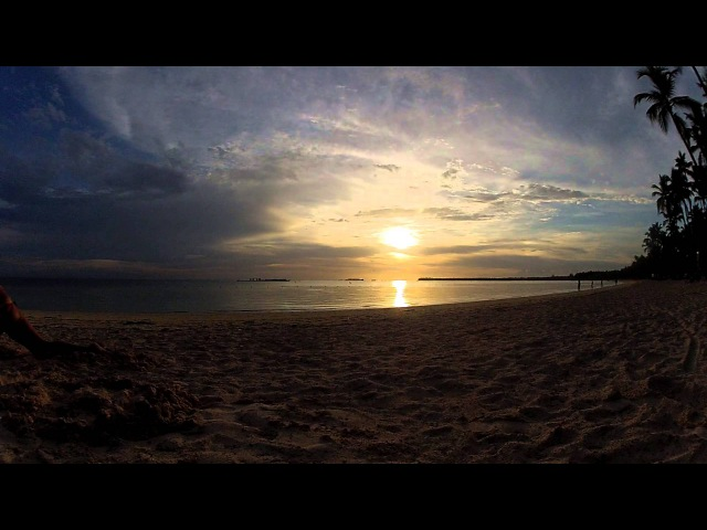 Утро на пляже в Доминиканской Республике