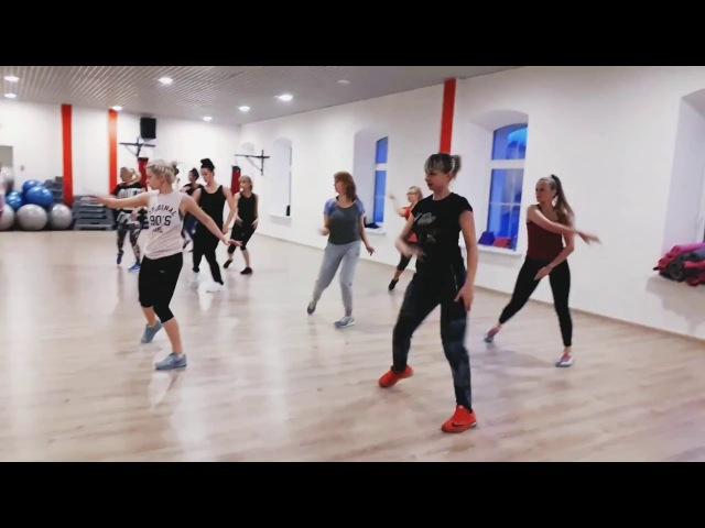 Hi-Low aerobics DANCE FITNESS CARDIO WORKOUT by Iryna Buiko