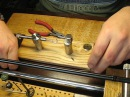 Станок для изготовления стальных поводков на скрутке