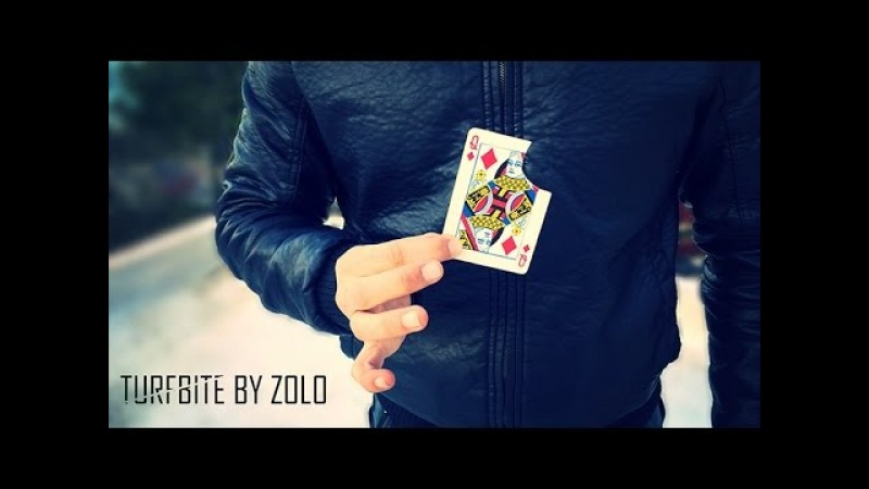 Turfbite by Zolo - Torn and Restored Card -