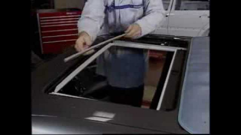 Mercedes w210 - trapa plafon ( partea 4 / 8 ) - clubmercedes.ro