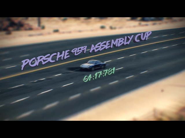 Porsche 959 Assembly cup(Nevada rev.)/01:17:781