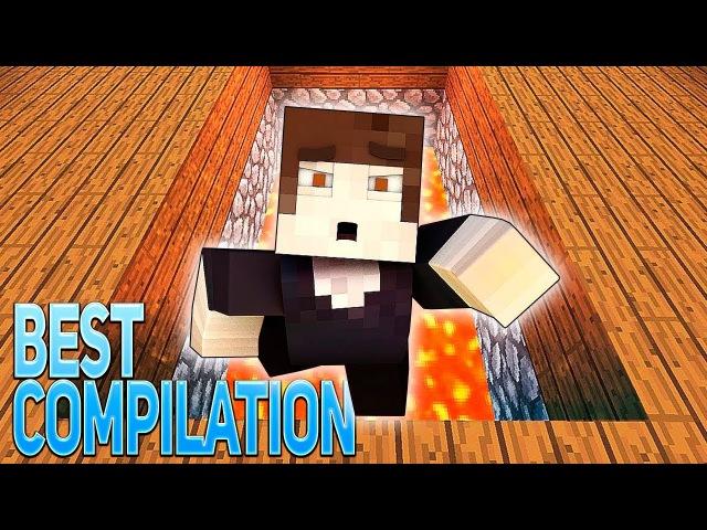 ТОП ВЕСЁЛЫХ МАЙНКРАФТ ПЕСЕН (На Русском) | Top Minecraft Song Animation Parody RUS