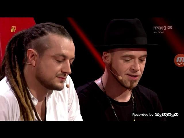 Ocena uczestników Tomsona i Barona The voice of poland live 1