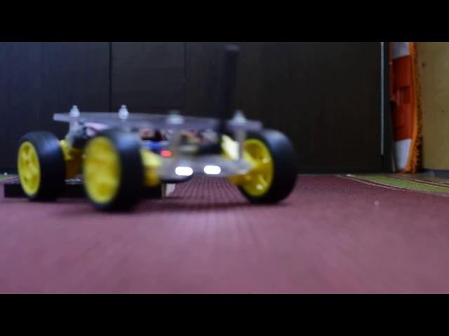 Радиоуправляемое шасси на Arduino и NRF24L01