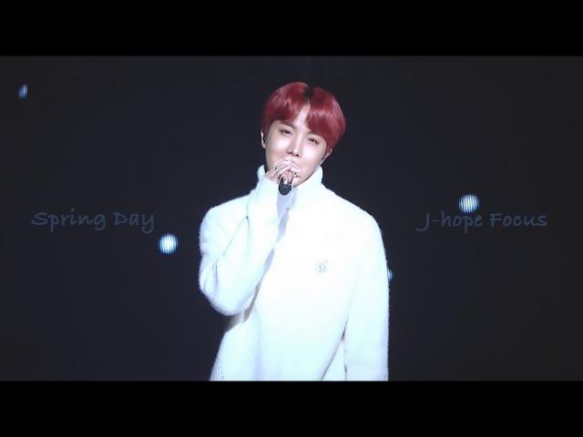 171229 KBS 가요대축제 방탄소년단 4K 봄날 제이홉 직켐 Spring Day J-Hope Focus
