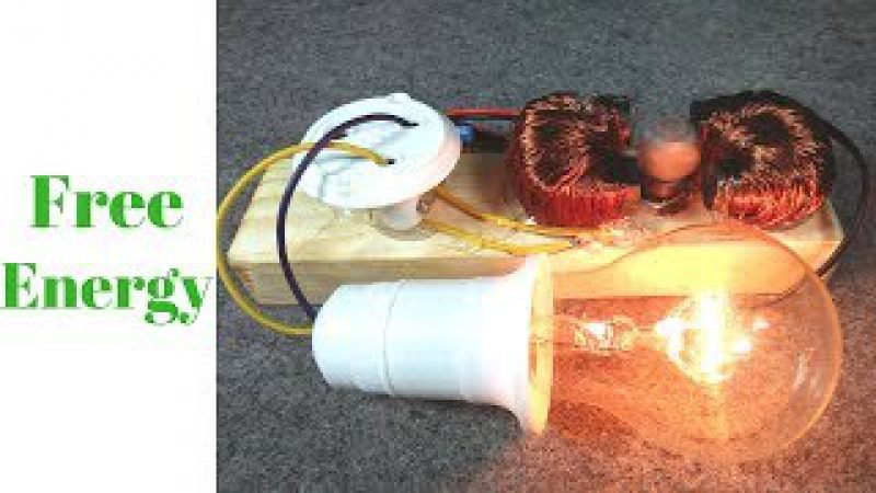 Free Energy Generator 220v Make A 1 Motor And 2 Coil 100%Self Free Energy New Machine