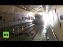Go-Pro Tank Free Fall Russia air-drops BMD-2 infantry fighting vehicles