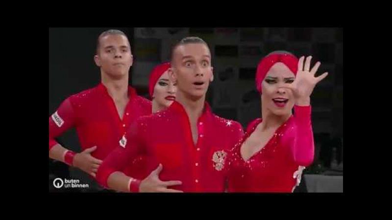 «Дуэт» Пермь - Чемпион мира по латиноамериканским танцам формейшн 2017 года
