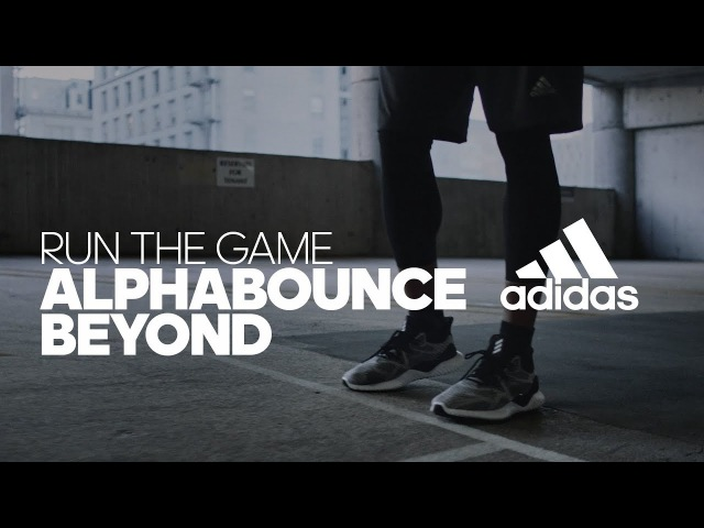 Adidas Running | AlphaBOUNCE BEYOND | Run The Game