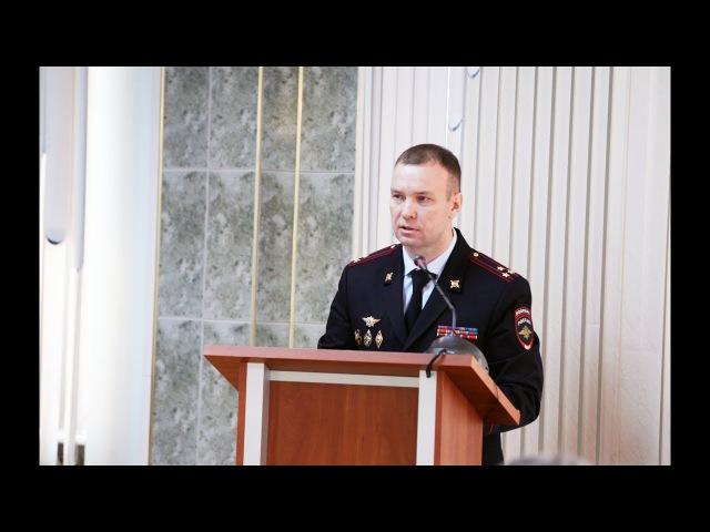 Новости с Советского 7. В региональном УМВД прошла итоговая коллегия