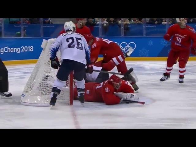 Россия США 4 0 Хоккей Олимпиада 2018 | HIGHLIGHTS | USA vs Russia hockey