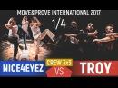 Nice4Eyez vs. TROY | Crew 3x3 1/4 @ Move Prove International 2017