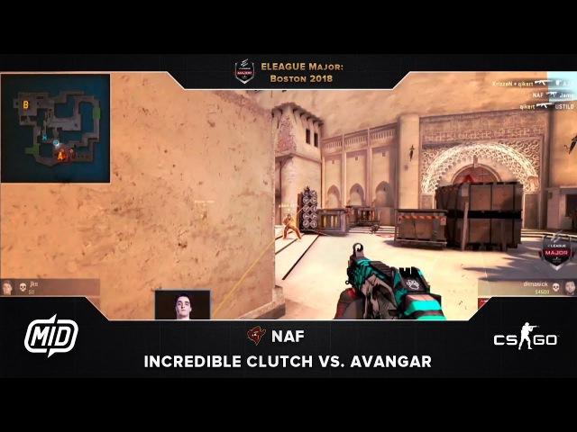 ELEAGUE Major | Renegades vs. AVANGAR | NAF incredible clutch
