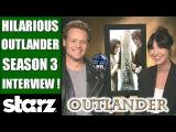 HILARIOUS Outlander Season 3 Interview - Sam Heughan &amp Caitriona Balfe on Taylor Swift, Jon Snow !