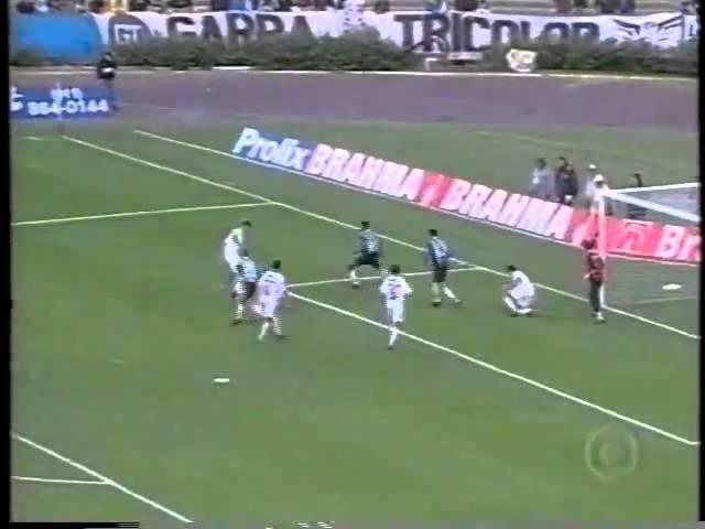 Grêmio 4x0 Avenida - Gaúcho 1999