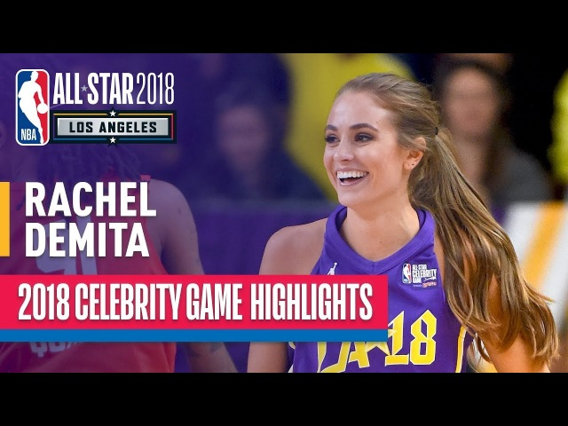 Rachel DeMita With NBA2K Worthy Performance In 2018 Celebrity All-Star Game   Presented by Ruffles