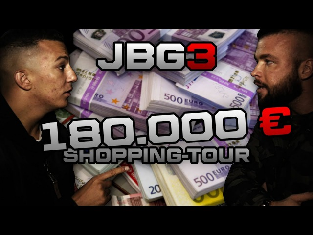 Kollegah Farid Bang ✖️ 180.000€ SHOPPING-TOUR ✖️