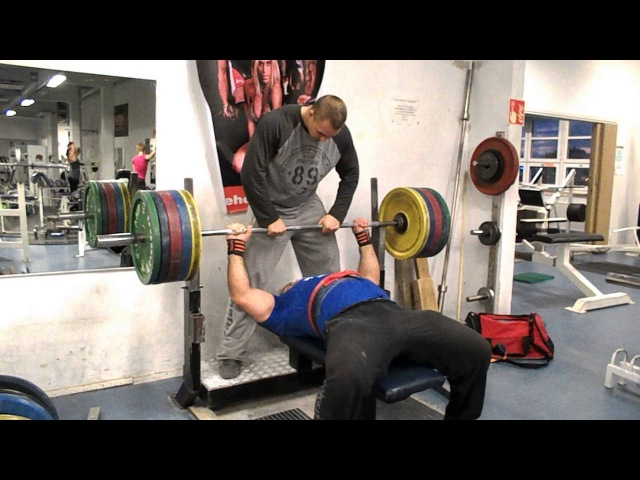 Zahir Khudayarov 200 x 3 raw bench press