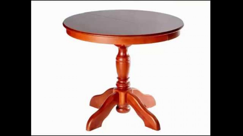 Круглый деревянный стол. Купить раздвижной стол из массива