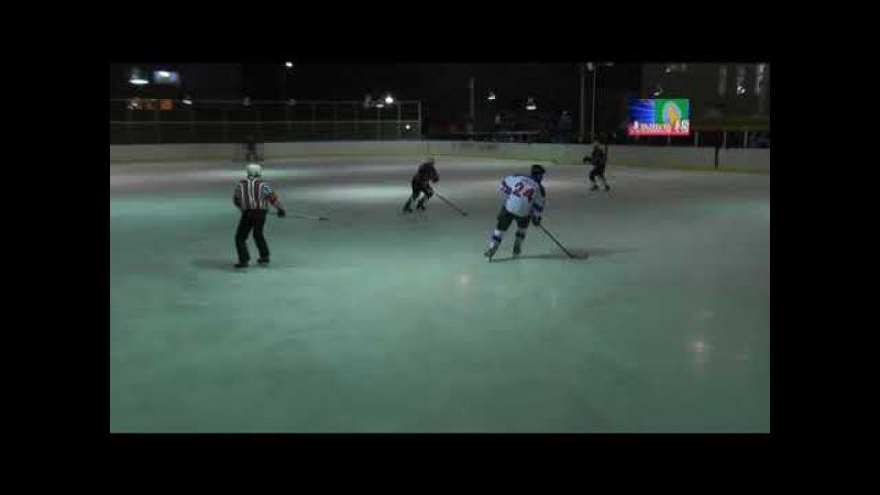 Хоккейный матч команд Дим и Строителя